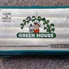 Videojuegos y Consolas: MÁQUINA NINTENDO GAME & WATCH - GREEN HOUSE. AÑOS 80. FUNCIONANDO.. Lote 55370753