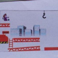 Videojuegos y Consolas: GRAFICOS PARA NINTENDO GAME WATCH DONKEY KONG. Lote 55399610