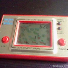 Videojuegos y Consolas: CONSOLA MAQUINITA PLAY & TIME GAME & WATCH DEPARTMENT STORE LCD CARD GAME FUNCIONANDO . Lote 57566624