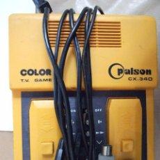 Videojuegos y Consolas: PALSON COLOR CX 340 - TV GAME - CONSOLA RETRO FUNCIONA - 2 JUGADORES - MADE IN SPAIN. Lote 56645316