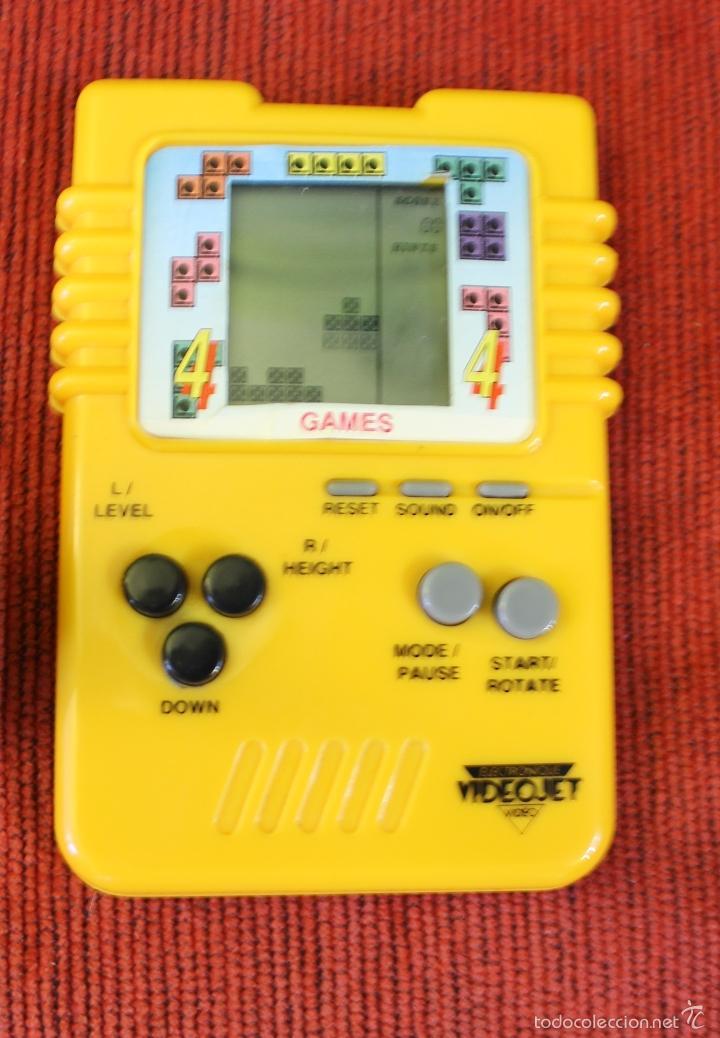 JUEGO ELECTRONICO LCD BRICK POCKET TETRIS (Juguetes - Videojuegos y Consolas - Otros descatalogados)