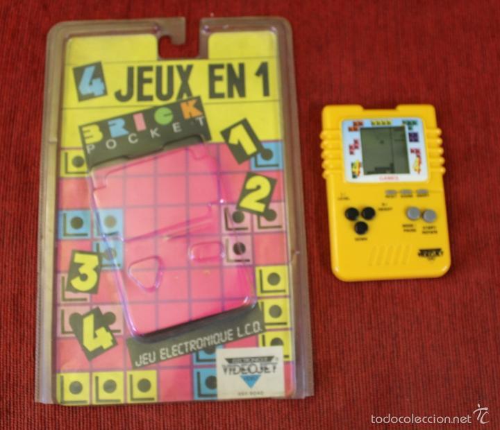 Videojuegos y Consolas: JUEGO ELECTRONICO LCD BRICK POCKET TETRIS - Foto 2 - 56711141