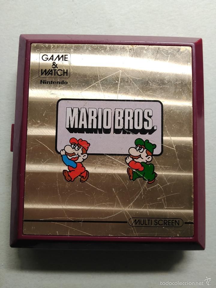 Videojuegos y Consolas: MAQUINITA GAME WATCH NINTENDO MARIO BROS - Foto 2 - 119991488