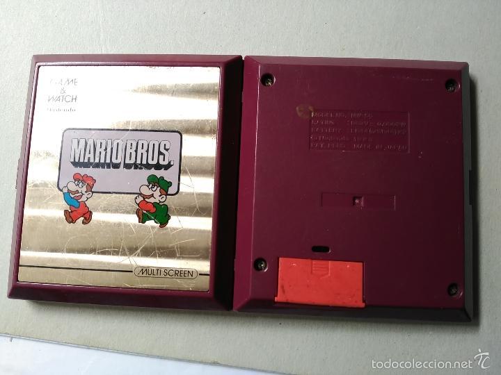 Videojuegos y Consolas: MAQUINITA GAME WATCH NINTENDO MARIO BROS - Foto 3 - 119991488