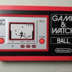Videojuegos y Consolas: MAQUINITA GAME WATCH NINTENDO BALL REEDICION NUEVA A ESTRENAR. Lote 56719354