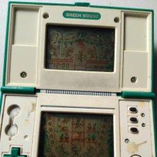 Videojuegos y Consolas: MAQUINITA GAME WATCH NINTENDO GREEN HOUSE. Lote 56721348