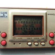 Videojuegos y Consolas: MAQUINITA GAME WATCH NINTENDO MANHOLE. Lote 56721507