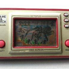 Videojuegos y Consolas: MAQUINITA GAME WATCH NINTENDO OCTOPUS. Lote 56721593
