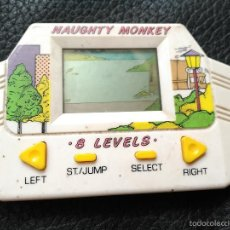 Videojuegos y Consolas: EPOCH LCD HANDHELD GAME NAUGHTY MONKEY JAPAN GAME WATCH. Lote 56738307