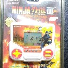 Videojuegos y Consolas: NINJA GAIDEN III TIGER LCD THE ACIENT SHIP OF DOOM EN BLISTER NO GAME WATCH. Lote 56738396