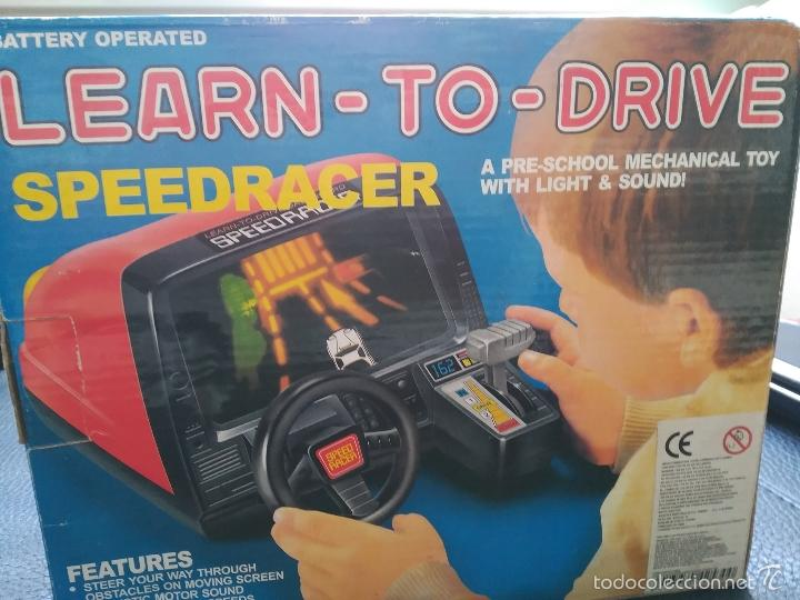 Learn To Drive Speed Racer En Caja Con Pegatina Sold Through Direct Sale 56738546