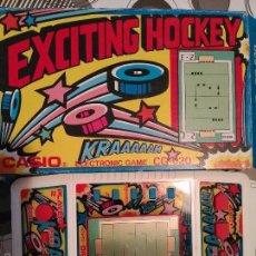 Videojuegos y Consolas: EXCITING HOCKEY CASIO CG-620 EB CAJA NO GAME WATCH . Lote 96316215