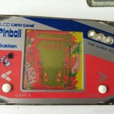 Videojuegos y Consolas: MAQUINITA PINBALL GAKKEN NO GAME WATCH. Lote 56813018