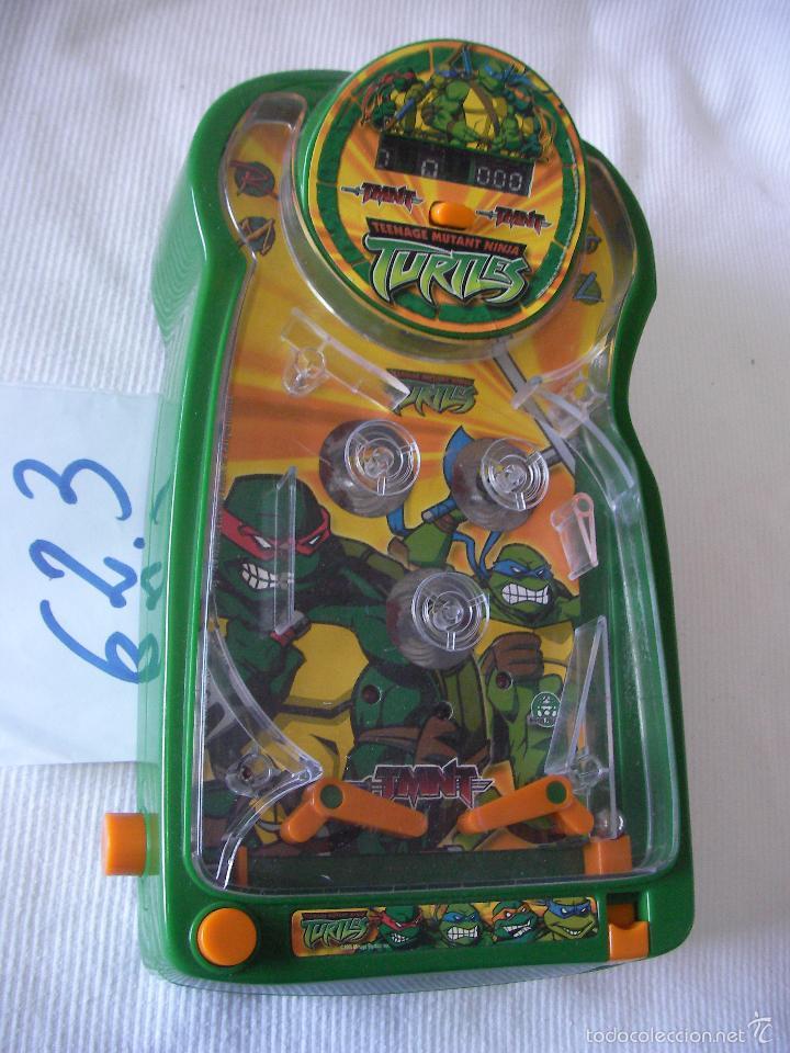 PIN BALL TORTUGA NINJA (Juguetes - Videojuegos y Consolas - Otros descatalogados)