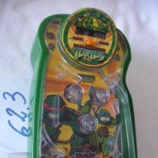 Videojuegos y Consolas: PIN BALL TORTUGA NINJA. Lote 57034477