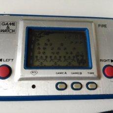 Videojuegos y Consolas: MAQUINITA FIRE GAME WATCH 1980 NINTENDO. Lote 57060129