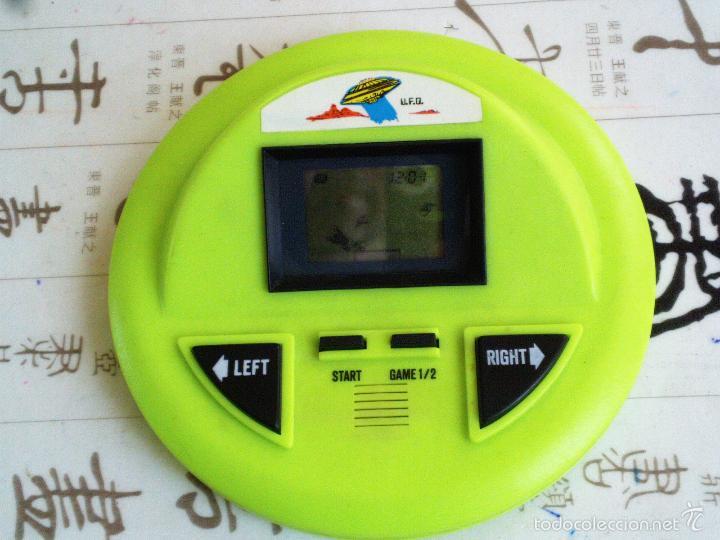 Videojuegos y Consolas: HANDHELD MAQUINITA TIPO GAME & WATCH UFO FUTBOL - Foto 3 - 51387292