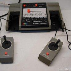 Videojuegos y Consolas: ANTIGUA CONSOLA SOUNDIC AÑOS 70-80 BASKET,TENIS,SQUASH,FUTBOL,TIRO,HOCKEY.... Lote 57415727