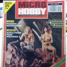 Jeux Vidéo et Consoles: MICRO HOBBY - N° 186 - BARBARIAN . Lote 57563531