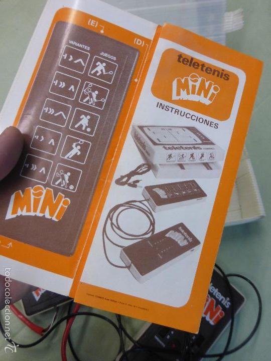 Videojuegos y Consolas: ANTIGUA CONSOLA VINTAGE TELETENIS MINI, CIPASI S.A. - MASAMAGRELL EN SU CAJA - ORIGINAL AÑOS 70-80. - Foto 2 - 57668743