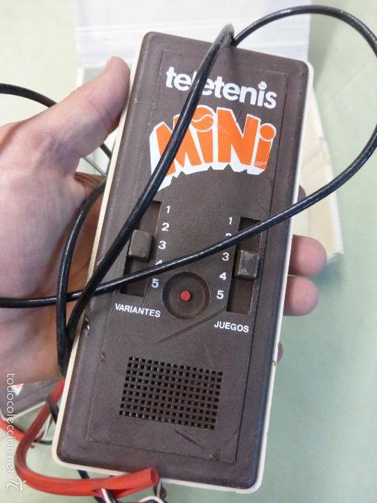 Videojuegos y Consolas: ANTIGUA CONSOLA VINTAGE TELETENIS MINI, CIPASI S.A. - MASAMAGRELL EN SU CAJA - ORIGINAL AÑOS 70-80. - Foto 6 - 57668743