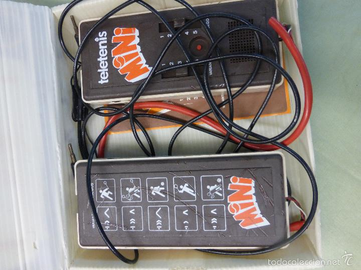 Videojuegos y Consolas: ANTIGUA CONSOLA VINTAGE TELETENIS MINI, CIPASI S.A. - MASAMAGRELL EN SU CAJA - ORIGINAL AÑOS 70-80. - Foto 8 - 57668743
