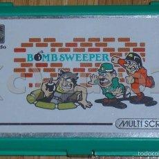 Videojuegos y Consolas: NINTENDO, GAME & WATCH, MULTISCREEN, BOMB SWEEPER, ORIGINAL, AÑOS 80.. Lote 58430869