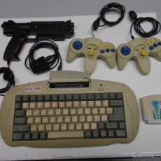 Videojuegos y Consolas: CONSOLA GLK- 6301, CON DOS MANDO Y PISTOLA, CARTUCHO 42 JUEGOS. Lote 58533861