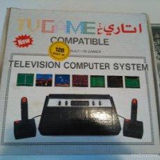 Videojuegos y Consolas: CONSOLA TV GAME COMPATIBLE ATARI 2600 128 BUILT IN NEW NUEVA A ESTRENAR. Lote 59640187