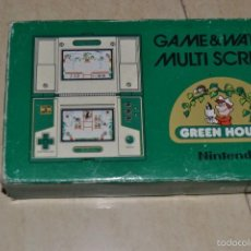 Videojuegos y Consolas: GAME WATCH GREEN HOUSE . Lote 59787132