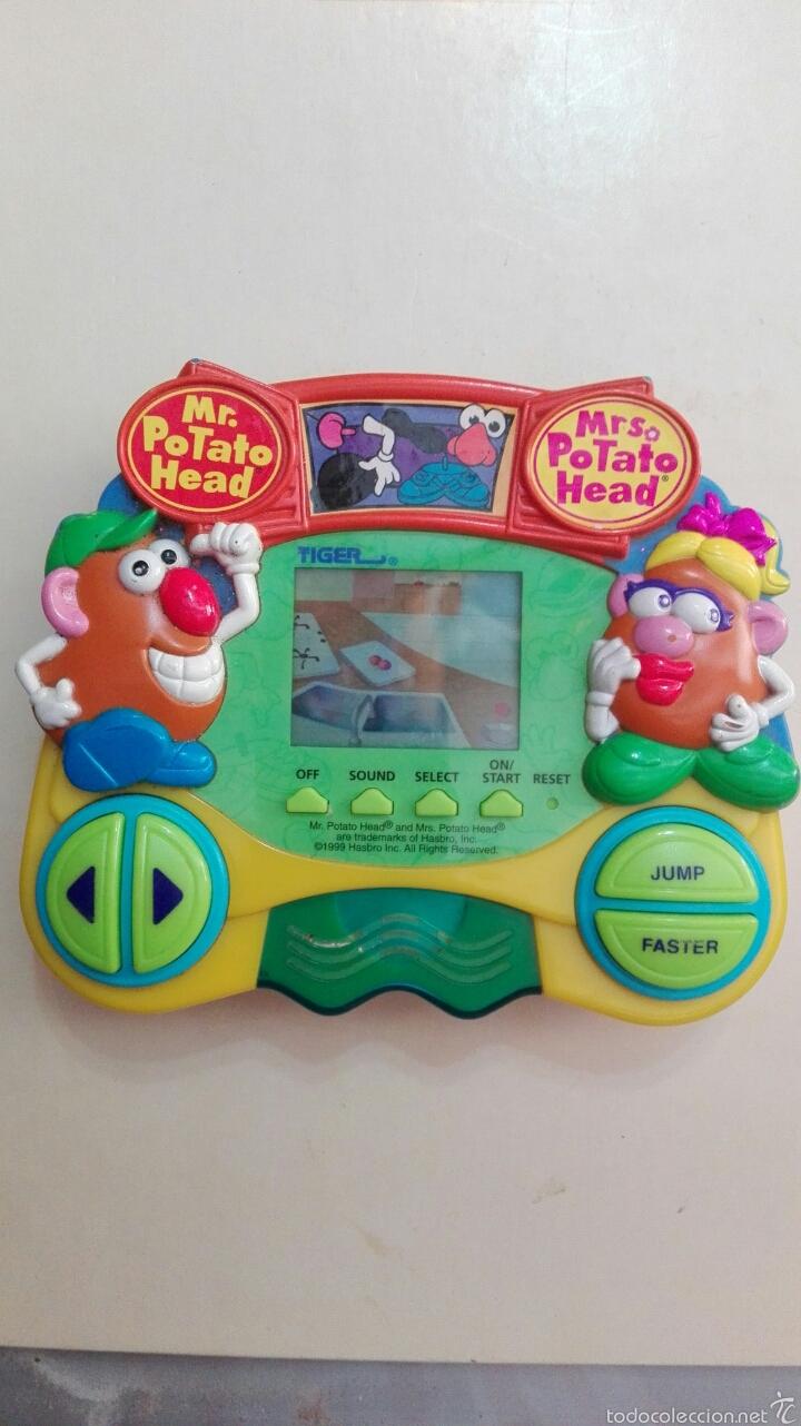 CONSOLA TIGER 1989, MR POTATO, FUNCIONA (Juguetes - Videojuegos y Consolas - Otros descatalogados)