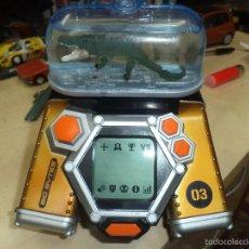 Videojuegos y Consolas: CONSOLA BIO BYTES 03 DE FAMOSA 2007,CON DINOSAURIO Y COCODRILO INTERCAMBIABLES.. Lote 60686927