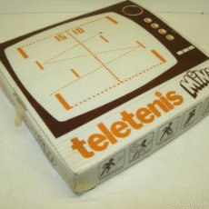 Videojuegos y Consolas: ANTIGUA CONSOLA CIPASI TELETENIS MINI TV GAME AÑOS 70-80, CON CAJA. Lote 61099789