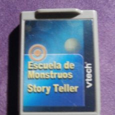 Videojuegos y Consolas: JUEGO - CARTUCHO PARA ORDENADOR INFANTIL - VTECH - ESCUELA DE MOUNSTROS - STORY TELLER . Lote 61645408