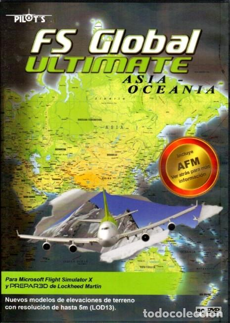 FS GLOBAL ULTIMATE ASIA OCEANÍA 6 DVD (Juguetes - Videojuegos y Consolas - Otros descatalogados)