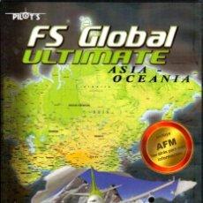 Videojuegos y Consolas: FS GLOBAL ULTIMATE ASIA OCEANÍA 6 DVD. Lote 62655012