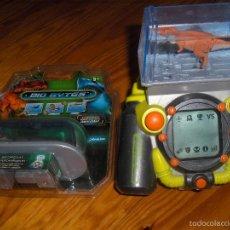 Videojuegos y Consolas: CONSOLA BIO BITES 2007 CON DOS DINOSAURIOS, UNO PRECINTADO. Lote 62785376
