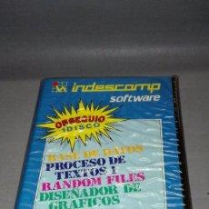 Videojuegos y Consolas: 918- AMSTRAD COMPILATION (7) INDESCOMP SOFTWARE -RARE!!. Lote 64007751