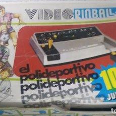 Videojuegos y Consolas: ANTIGUA CONSOLA TIPO PONG VIDEO PIMBALL 10. Lote 67482433