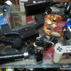 Videojuegos y Consolas: LOTE DE MANDOS ETC PLAY MICROFONOS.. Lote 68063117