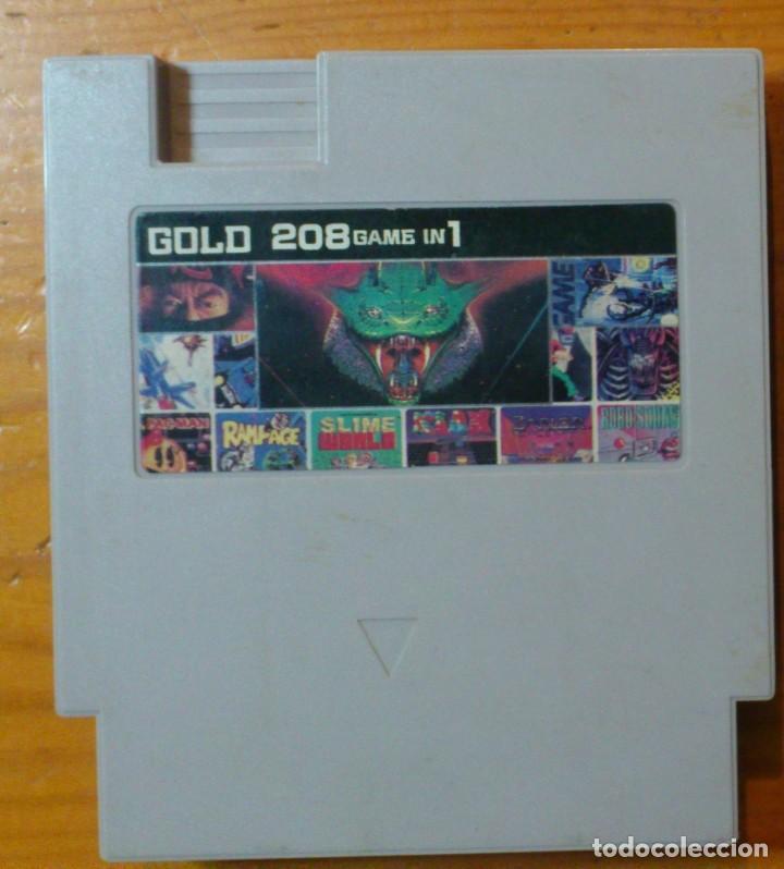 MULTIGAME GOLD 208 GAME IN 1 (Juguetes - Videojuegos y Consolas - Otros descatalogados)