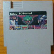 Videojuegos y Consolas: MULTIGAME GOLD 208 GAME IN 1. Lote 68169869