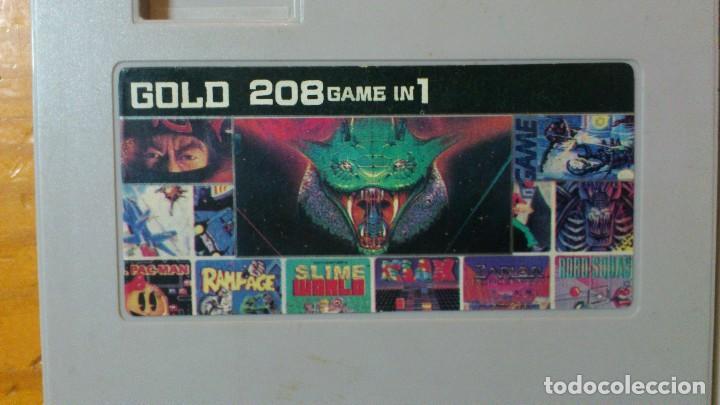 Videojuegos y Consolas: Multigame gold 208 game in 1 - Foto 2 - 68169869