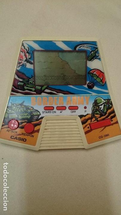 BORDER ARMY DE CASIO 1987 MÁQUINA VINTAGE (Juguetes - Videojuegos y Consolas - Otros descatalogados)