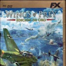 Videojuegos y Consolas: WINGS OF PREY. EDICION DE ORO FX. Lote 69131965