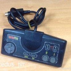 Videojuegos y Consolas: MANDO TURBO PAD DE LA CONSOLA NEC TURBOGRAFX 16 PC ENGINE NEGRO. Lote 83008779