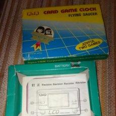 Videojuegos y Consolas: Q-Q FLYING PLATILLO VOLANTE MOD. CG-4 CITROËN GAMA CLOCK CARD. Lote 71074563