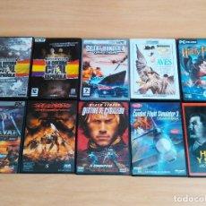 Videojuegos y Consolas: LOTE B - 10 CD DE JUEGO S Y PELÍCULA S, ORIGINALES COMPLETOS, CON INSTRUCCIONES ETC. VER FOTOS. Lote 119161998