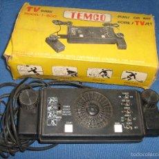 Videojuegos y Consolas: ANTIGUA VIDEO CONSOLA TEMCO COMPLETA. Lote 72845211