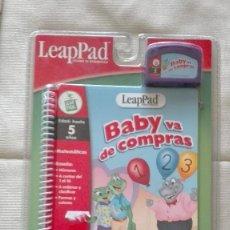 Videojuegos y Consolas: CARTUCHO LEAPPAD BABY VA DE COMPRAS LEAP FROG LEAP PAD LEAP FROG NUEVO. Lote 72886855